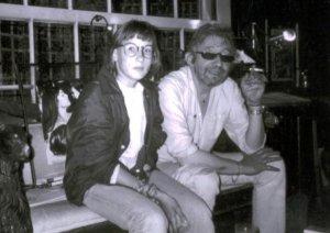 Aude Turpault et Serge Gainsbourg