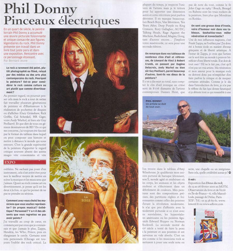 Rolling Stone - mars 2010